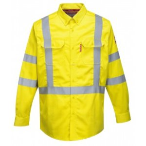 High Visibility Flame Resistant 88/12 Shirt, PFR95