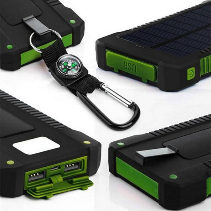 Solar Power Bank Promo Page