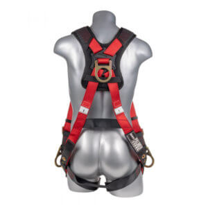 Fall Protection Harness Back/Side D-Rings