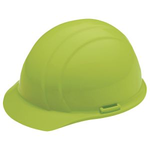 High Visibility Lime Hard hat