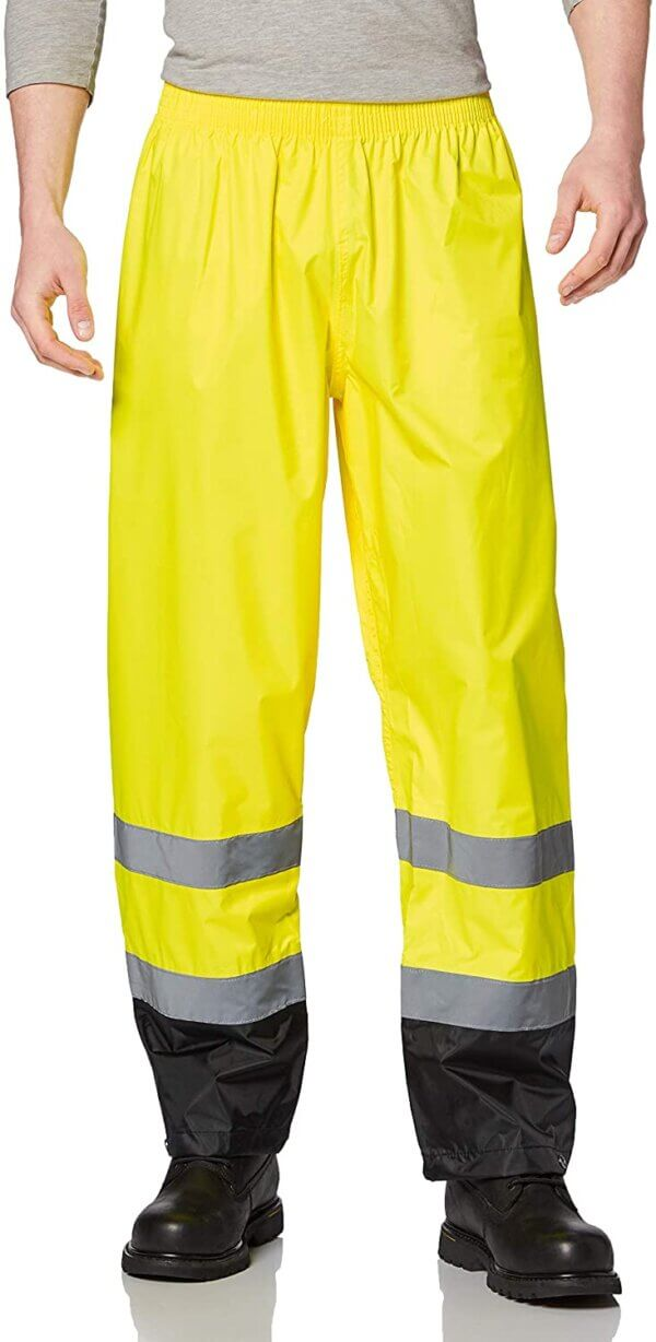High Visibility Contrast Rain Pants