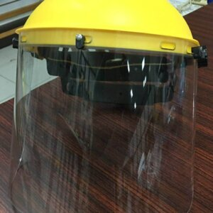 Face Shield with Brow Guard Carrier, PP96