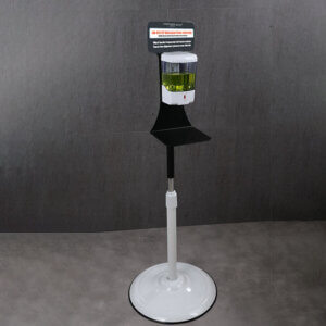 Automatic Touchless Hand Sanitizer Station w Floor Stand, 600ml