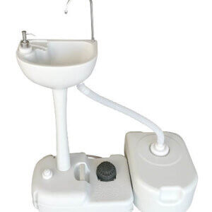 Portable Dual Hand Washing Station with Water Base, HWS701