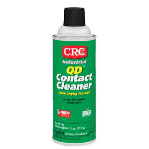CRC QD Contact Cleaners, 11 oz Aerosol Can
