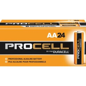 Procell Battery, Non-Rechargeable Alkaline, 1.5 V, AA