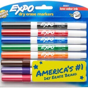 Expo Dry Erase Markers, Assorted