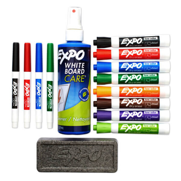 Expo Dry Erase White Board Care