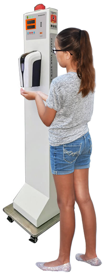 Infrared body Scanner