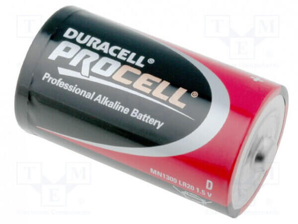 PC1300 Procell D Battery Single