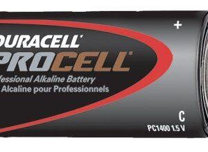 Procell Battery, Non-Rechargeable Alkaline, 1.5 V, C