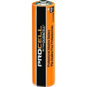 Procell Battery, Non-Rechargeable Alkaline, 1.5 V, AAA