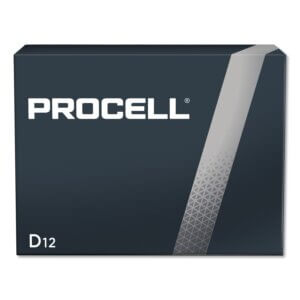 Procell Battery, Non-Rechargeable Alkaline, 1.5 V, D