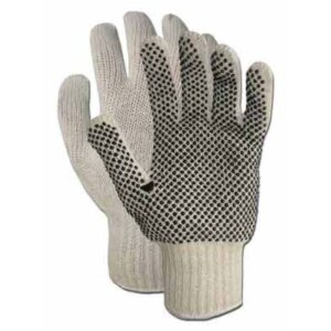 Boss® Poly/Cotton Blend With PVC Dots Gloves