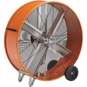 30 in. Heavy Duty Belt Drive Drum Industrial Fan